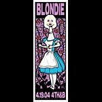 Scrojo Blondie Poster