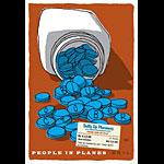 Scrojo Blue October Poster