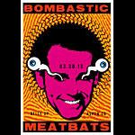 Scrojo Bombastic Meatbats  Poster