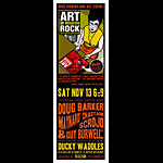 Scrojo Art of Modern Rock Book Signing Poster