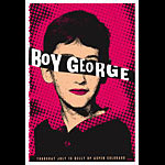 Scrojo Boy George Poster