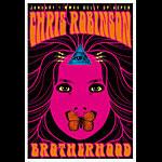 Scrojo Chris Robinson Brotherhood Poster