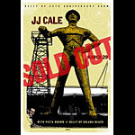 Scrojo JJ Cale Belly Up 35th Anniversary Show Poster