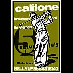 Scrojo Califone Poster