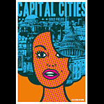 Scrojo Capital Cities Poster