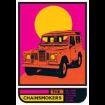 Scrojo The Chainsmokers Poster