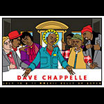 Scrojo Dave Chappelle Comedy Poster