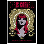 Scrojo Chris Cornell (of Soundgarden and Audioslave fame) Poster