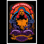 Scrojo Chris Cornell (of Soundgarden and Audioslave) Poster