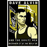 Scrojo Dave Alvin and the Guilty Men Poster