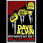 Scrojo Dave Alvin Poster