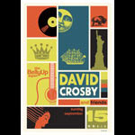 Scrojo David Crosby and Friends Poster
