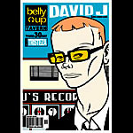 Scrojo David J and the Velvet Cosh Poster