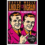 Scrojo David Lindley and Wally Ingram Poster
