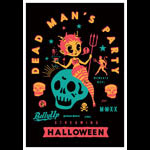 Scrojo Dead Man's Party - Streaming Concert Poster