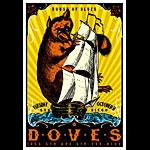 Scrojo Doves Poster