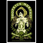 Scrojo Dropkick Murphys Poster