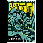 Scrojo Electric Frankenstein Poster