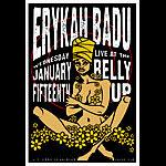 Scrojo Erykah Badu Poster