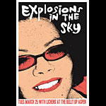 Scrojo Explosions In The Sky Poster