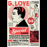 Scrojo G. Love and Special Sauce Poster