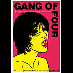 Scrojo Gang of Four Poster