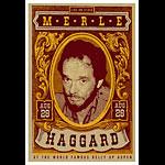 Scrojo Merle Haggard Poster