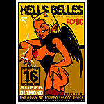 Scrojo Hell's Belles (AC/DC Tribute Band) Poster