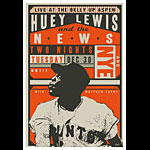Scrojo Huey Lewis and the News Poster