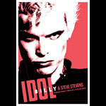 Scrojo Billy Idol and Steve Stevens Poster