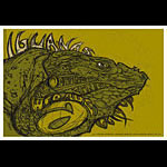 Scrojo The Iguanas Poster