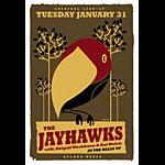 Scrojo The Jayhawks Poster