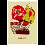 Scrojo Jenny and Johnny Poster