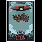 Scrojo The Killers and Billy Idol Poster