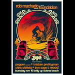 Scrojo Fifth Annual Rob Machado Foundation Benefit Concert - Pepper Poster