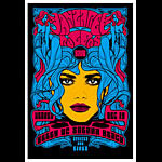 Scrojo Manzarek Rogers Band Poster