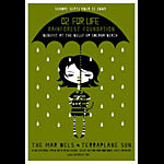 Scrojo The Mar Dels - O2 (Oxygen) For Life Rainforest Foundation Benefit Poster