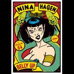 Scrojo Nina Hagen Poster