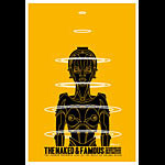 Scrojo Naked and Famous Poster
