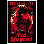 Scrojo Ted Nugent Poster