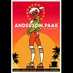 Scrojo Anderson .Paak and the Free Nationals Poster