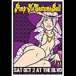 Scrojo Pimp 'N' Ho Costume Ball Poster