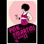 Scrojo Pink Martini Poster