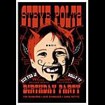 Scrojo Steve Poltz Birthday Party Poster