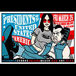 Scrojo Presidents of the United States of America Poster
