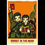 Scrojo Rabbit In The Moon Poster
