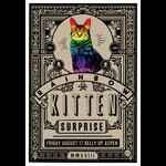 Scrojo Rainbow Kitten Surprise Poster
