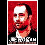Scrojo Joe Rogan of Fear Factor Poster
