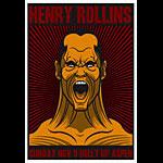 Scrojo Henry Rollins Poster