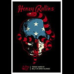 Scrojo Henry Rollins - The Long March Tour Poster